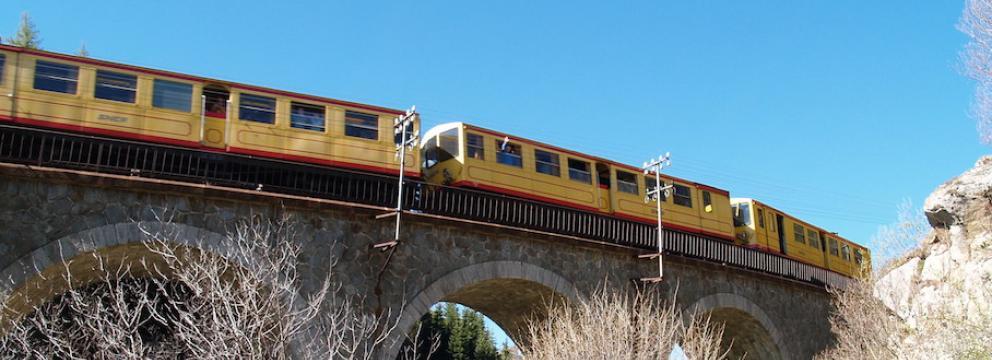 Le petit train jaune de Cerdagne