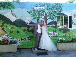 Mariage au Camping